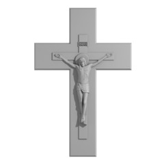 Catholic Cross with the Crucifixion.