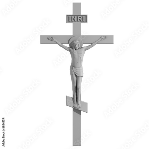 Only Cross with the Crucifixion.