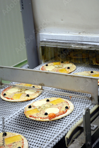 Pizza industrielle