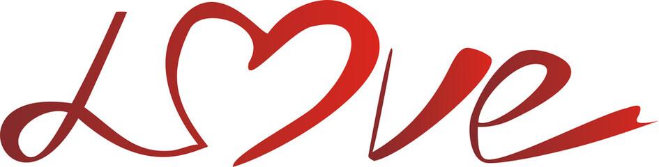love - original font