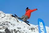 Sport ski extreme poster