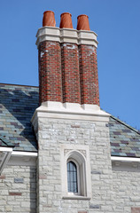 elaborate chimneys