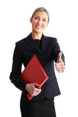 Business success woman