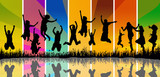 Fototapety people jumping