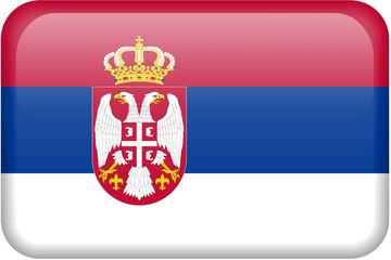 Serbia Flag Button