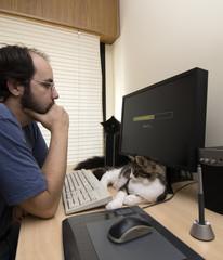 esperando por el ordenador