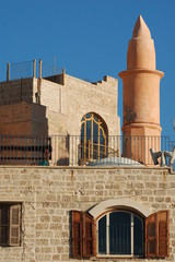 Old Jaffa.Lighthouse.