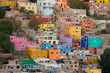 colorful buildings in Mexico