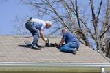 Roofing contractors poster