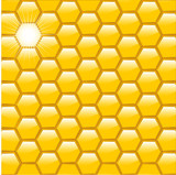 honeycomb poster