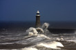 Fototapeten,leuchtturm,welle,sturm,wind