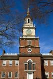 Independence Hall - historical landmark in Philadelphia poster