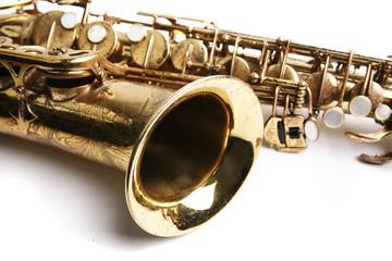 Saxophone. Musical instrument