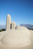 Afrikaans Language Monument in South Africa poster