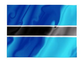 Botswana fluttering