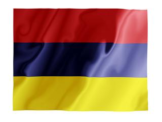Armenia fluttering