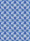 Turkish Tiles inside the Mosque, Istanbul, Turkey poster