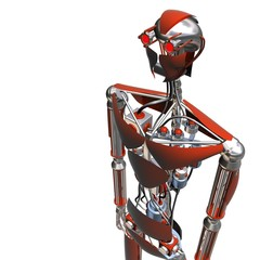 cyborg red