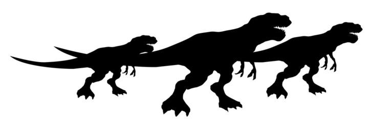Grupo de dinosaurios