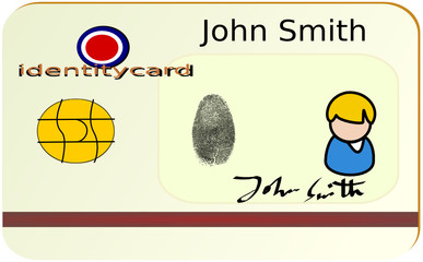 cartão de identidade