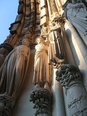 Sculptures on Saint John the Divine Cathedral, New York City