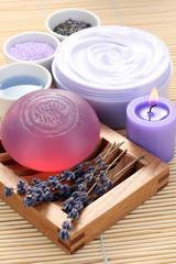 aromatic lavender bath