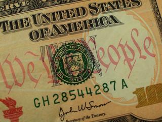 Ten Dollar Bill-We The People