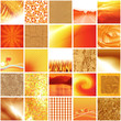 mosaïque orange