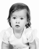 Little Baby Girl 18 months old poster