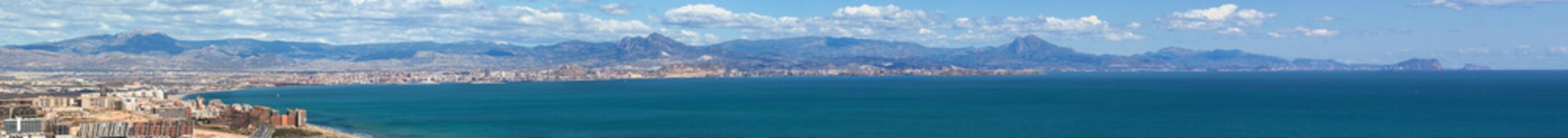 Panoramica Alicante