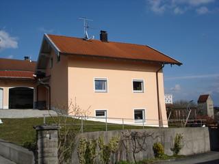 Haus in Rosa