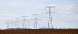 power transmission tower - electrical supply