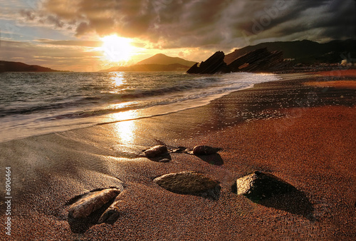 canvas print picture Rafailovichi beach