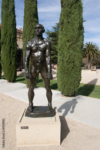 Leinwandbild Motiv Rodin