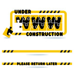 Website development - under construction - please return later poster