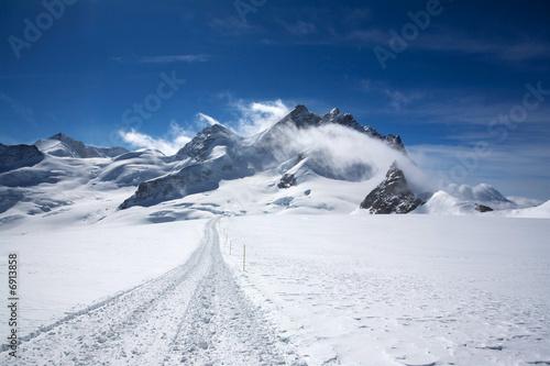 Landscape in Swizz Alps - 6913858