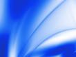 Abstract blue beams