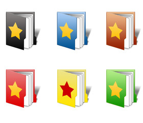 Star Favourite Folder Icon