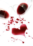 Red wine romance poster