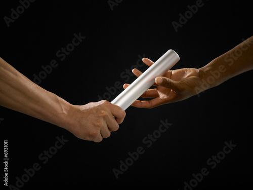 passing a baton