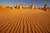 Pinnacles desert in Western Australia poster