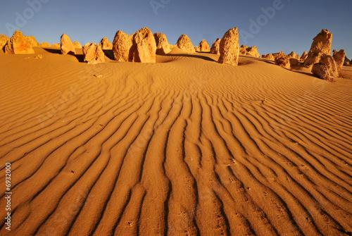Leinwandbild Motiv Pinnacles desert in Western Australia