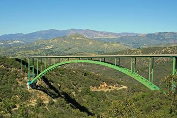 Cold Spring Arch Bridge in California
