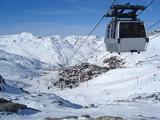 Fototapete Kajüte - Skier - Andere