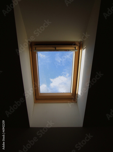 new skylight in the old building