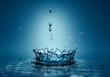3d water splash