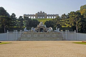 Wien gloriette schloss schoenbrunn