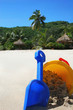 beach vacation childrens bucket and spade