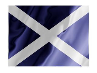 Scotland fluttering