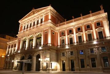 Musikverein bei Nacht